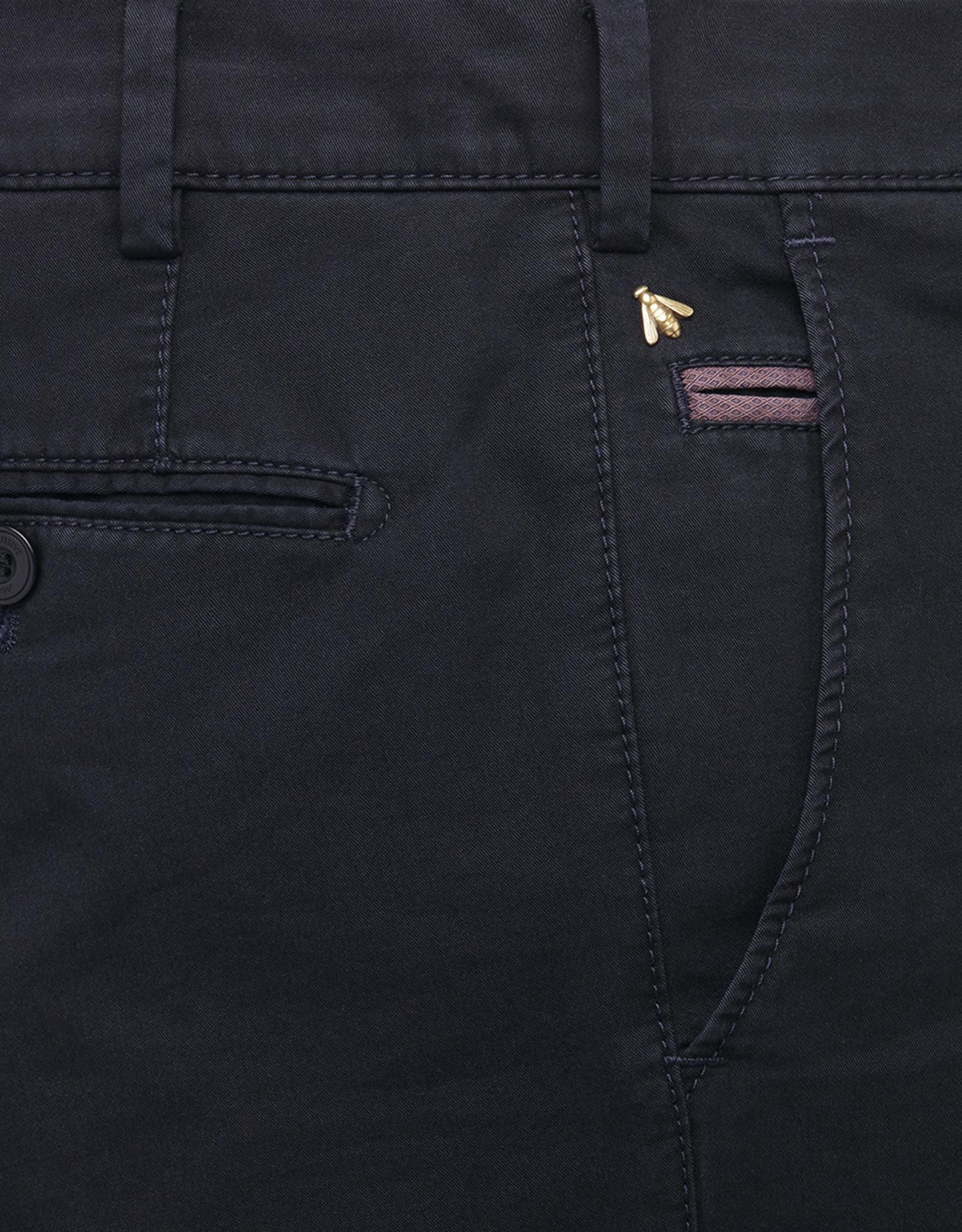 Meyer Exclusive Meyer Exclusive broek katoen marine  8033/19 Bonn
