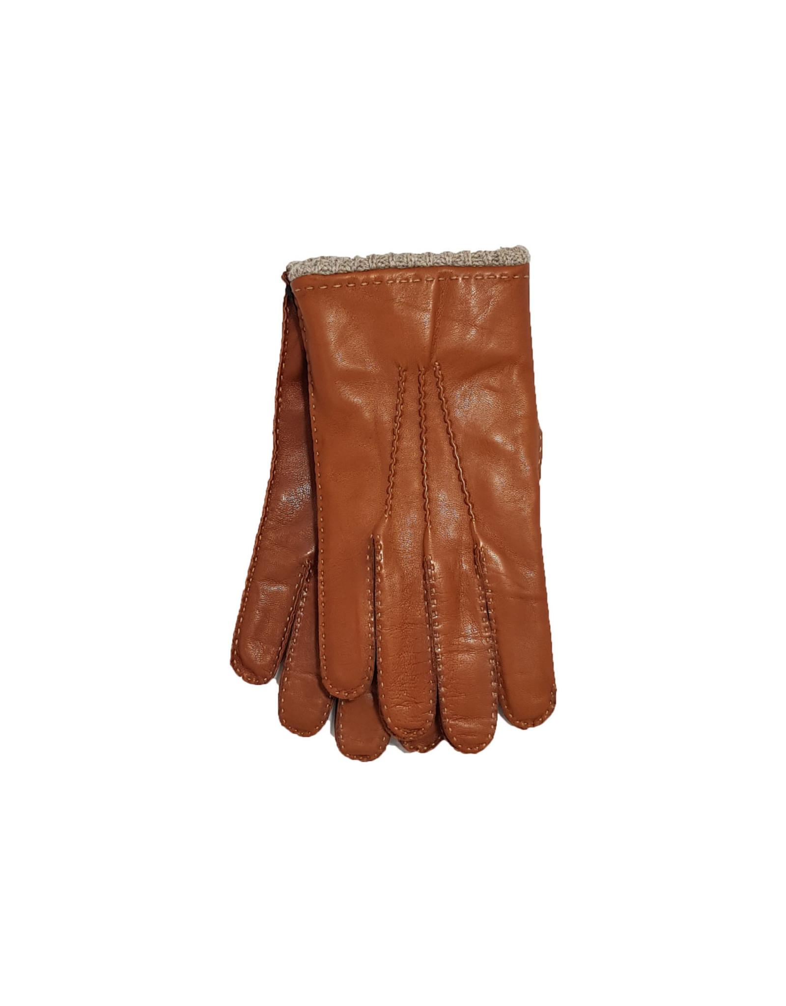Mazzoleni Mazzoleni handschoenen leder camel 904/13