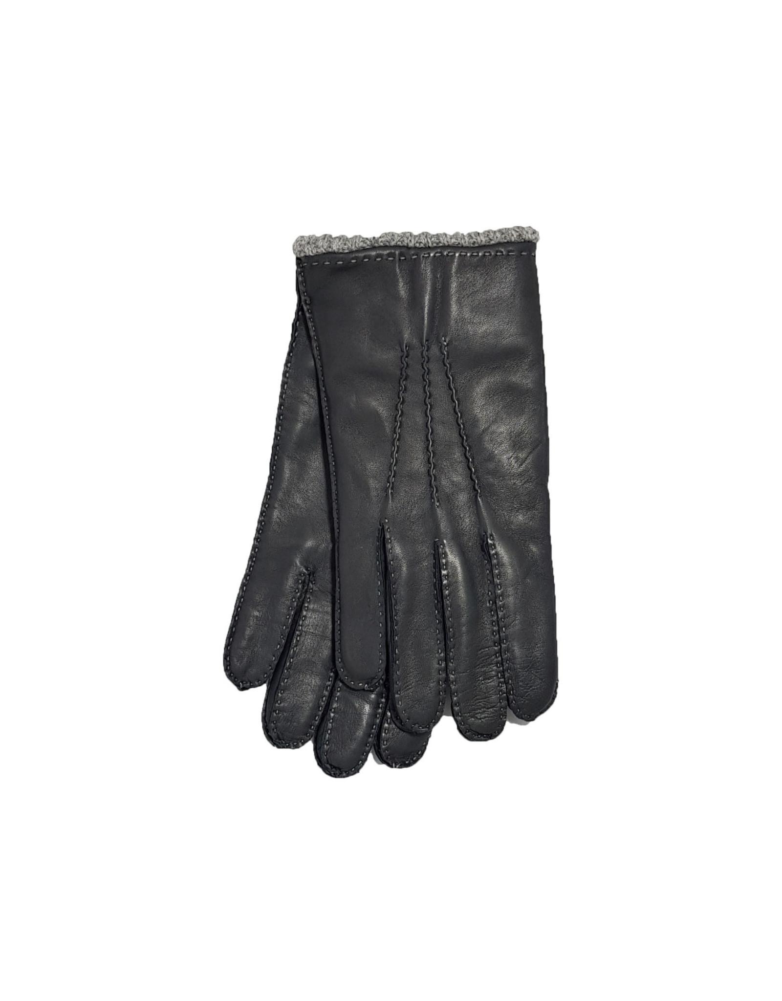 Mazzoleni Mazzoleni handschoenen leder grijs 904/4