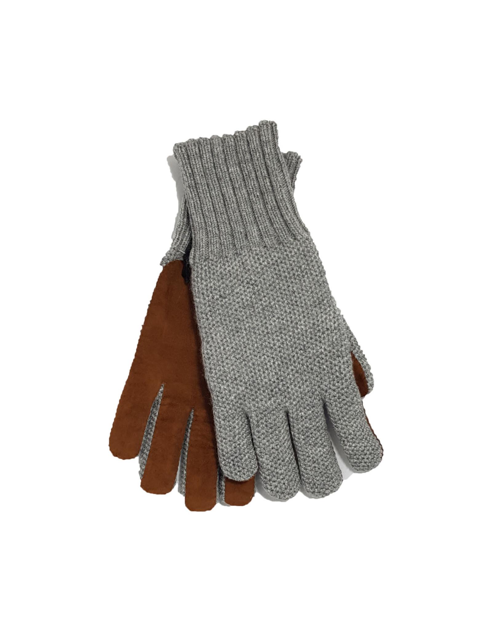 Mazzoleni Mazzoleni handschoenen kasjmir grijs CU2