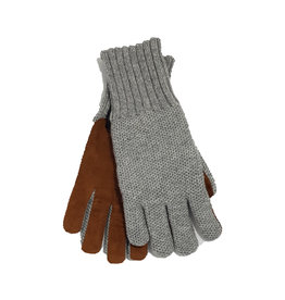 Mazzoleni Mazzoleni handschoenen kasjmir grijs