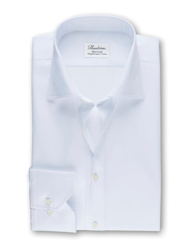 Stenströms Stenströms hemd wit fitted body 602771-1467/000