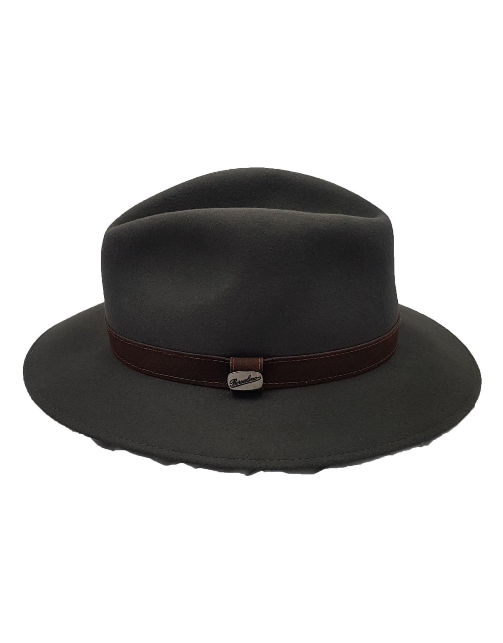 Borsalino Borsalino hoed groen 390060