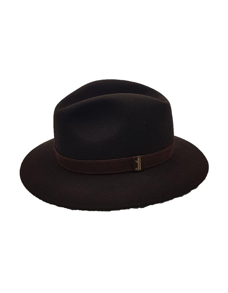 Borsalino Borsalino hoed bruin 390060