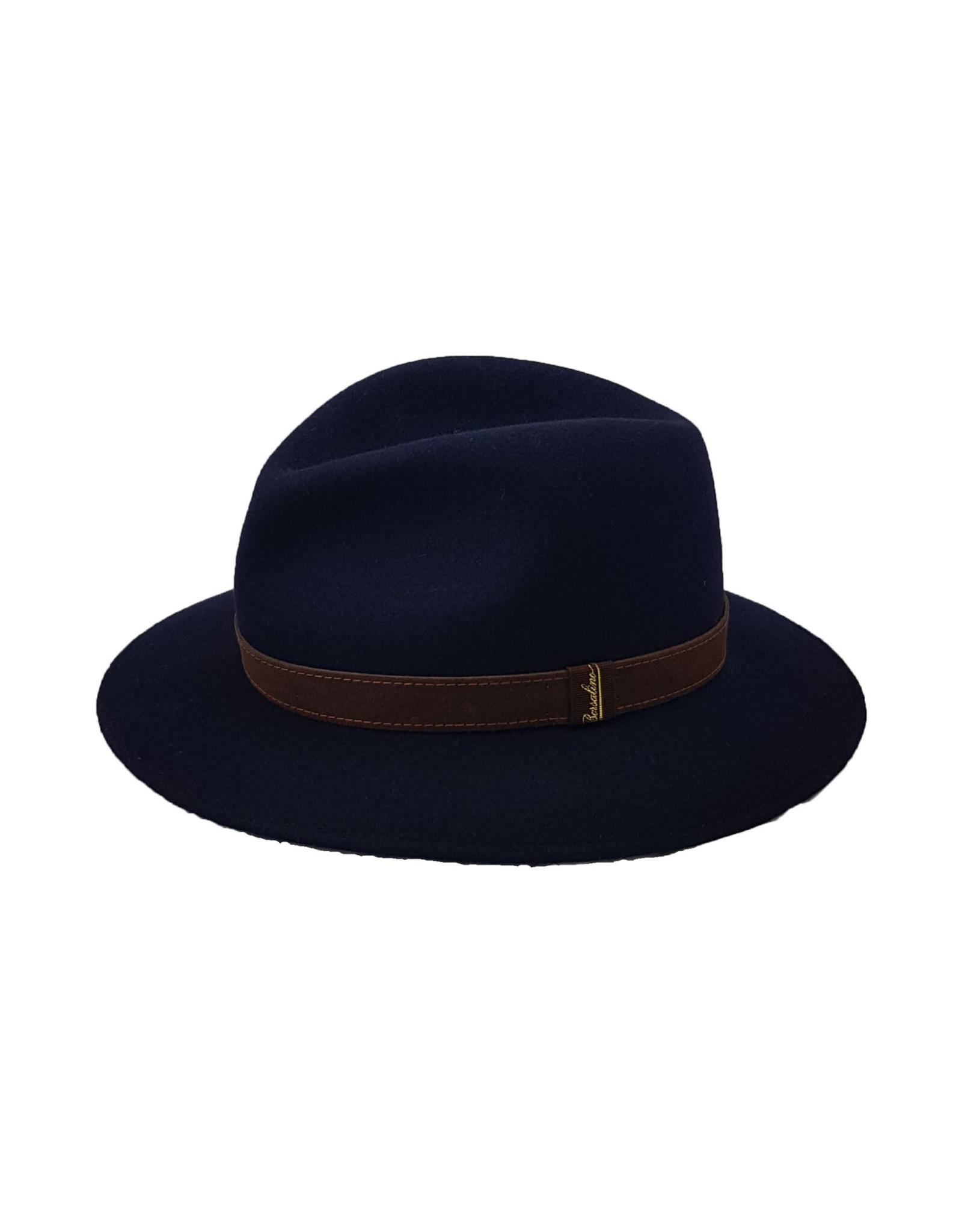 Borsalino Borsalino hoed blauw 390060