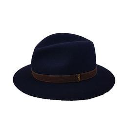 Borsalino Borsalino hoed blauw