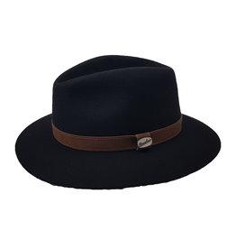 Borsalino Borsalino hoed zwart