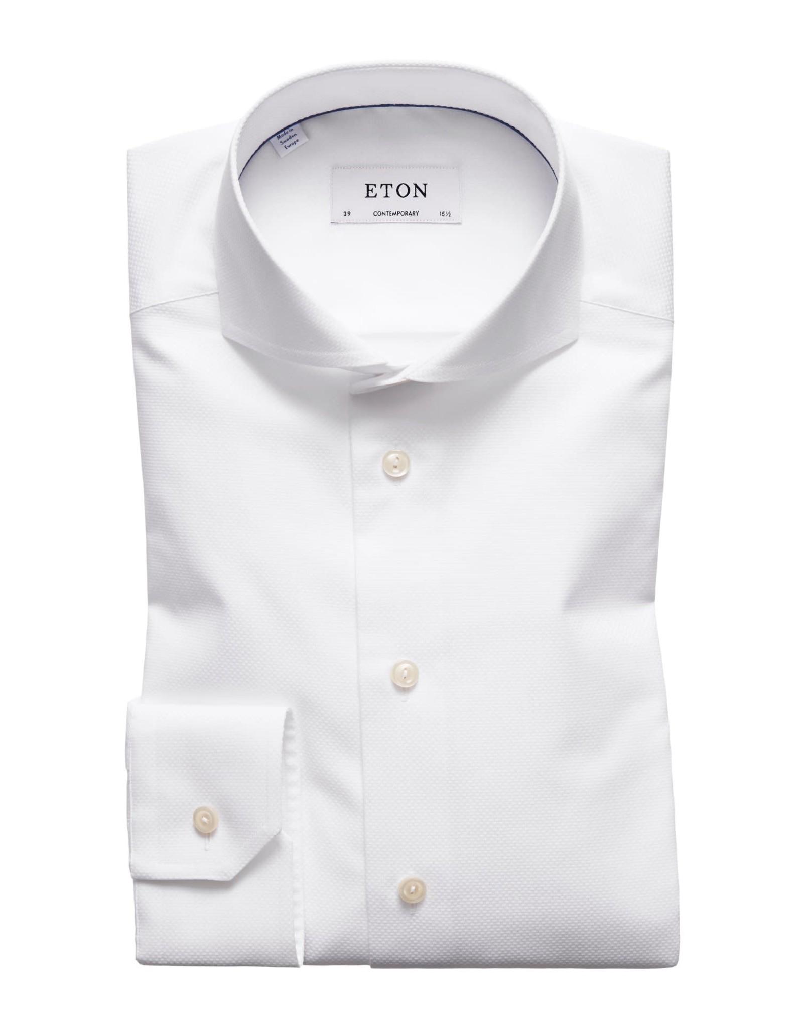 Eton Eton hemd wit slim 1025-73511/01