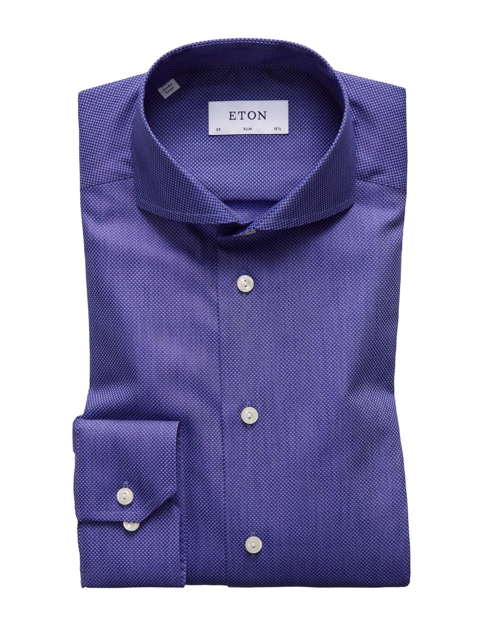 Eton Eton hemd blauw slim 1025-73511/27