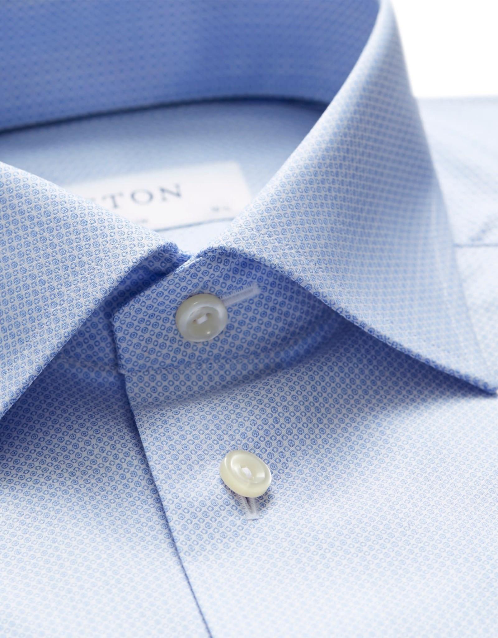 Eton Eton hemd  blauw classic 1029-78011/21