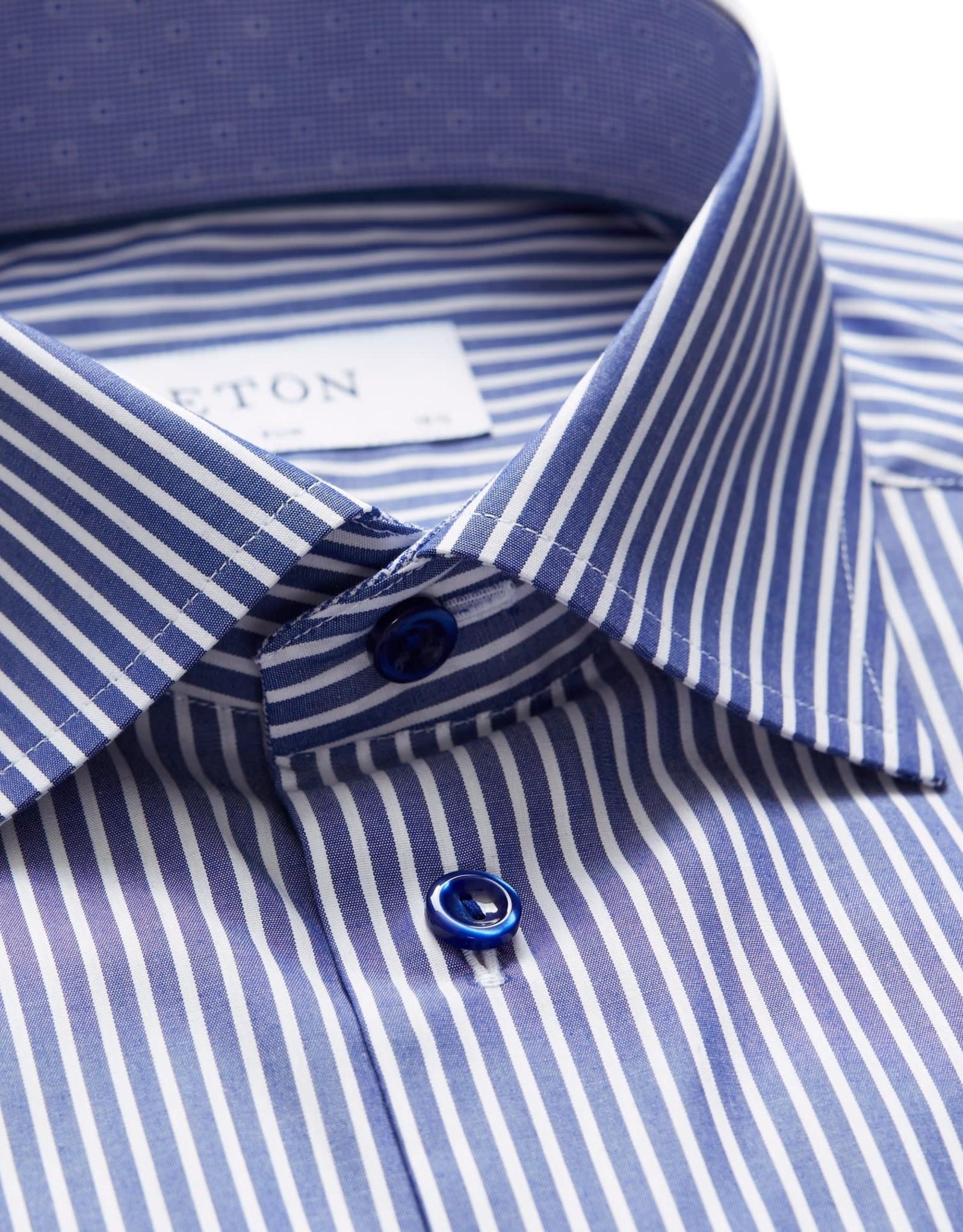 Eton Eton hemd blauw contemporary 2036-79467/25