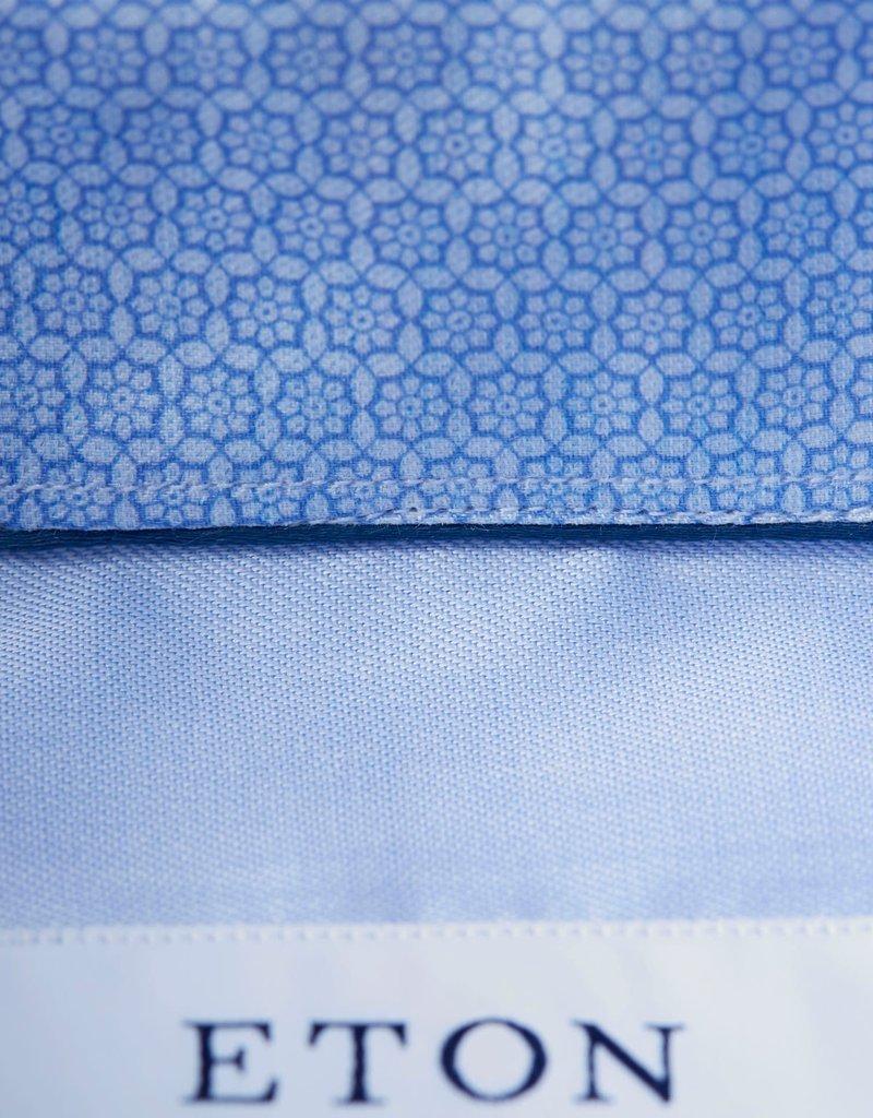 Eton Eton hemd blauw contemporary 3000-00458/21