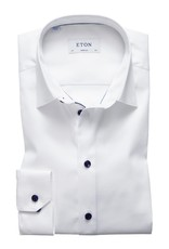 Eton Eton hemd wit superslim 3000-00842/00
