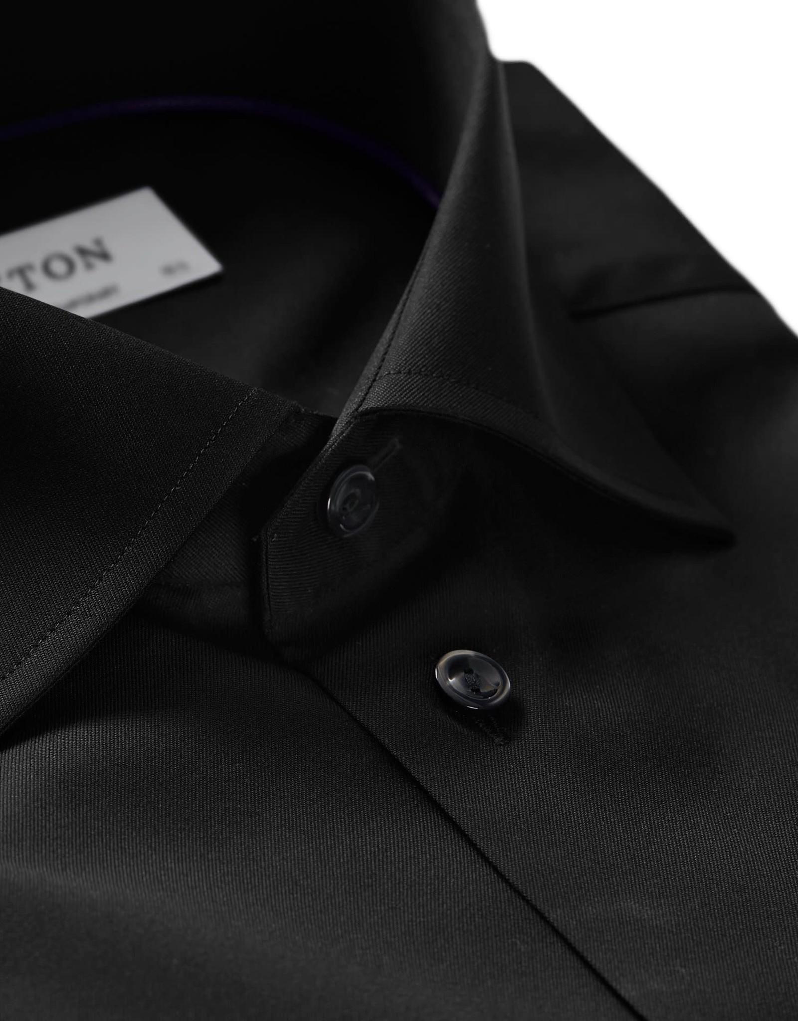 Eton Eton hemd zwart contemporary 3000-79311/18