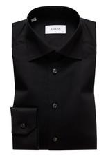 Eton Eton hemd zwart slim 3000-79511