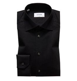 Eton Eton hemd zwart slim