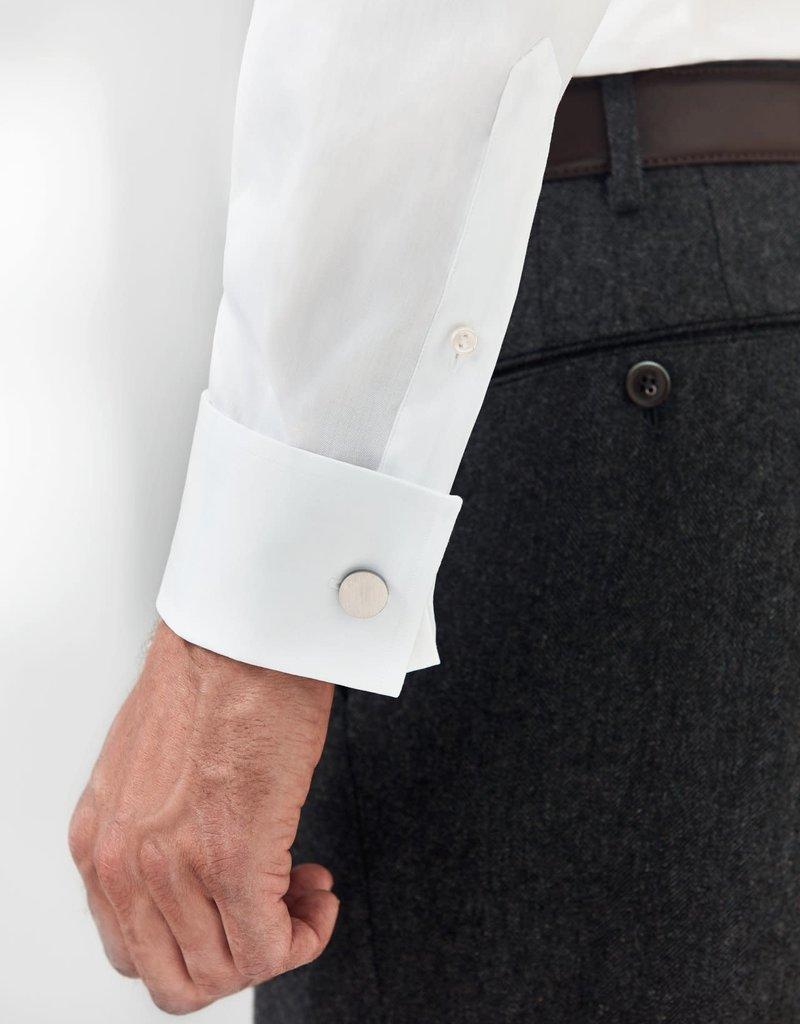 Eton Eton hemd wit dubbel manchet slim 3000-79512/00