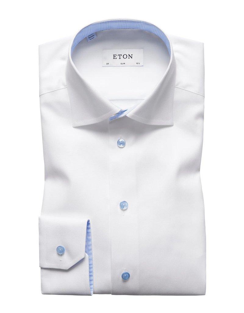 Eton Eton hemd wit slim 3010-00602/00