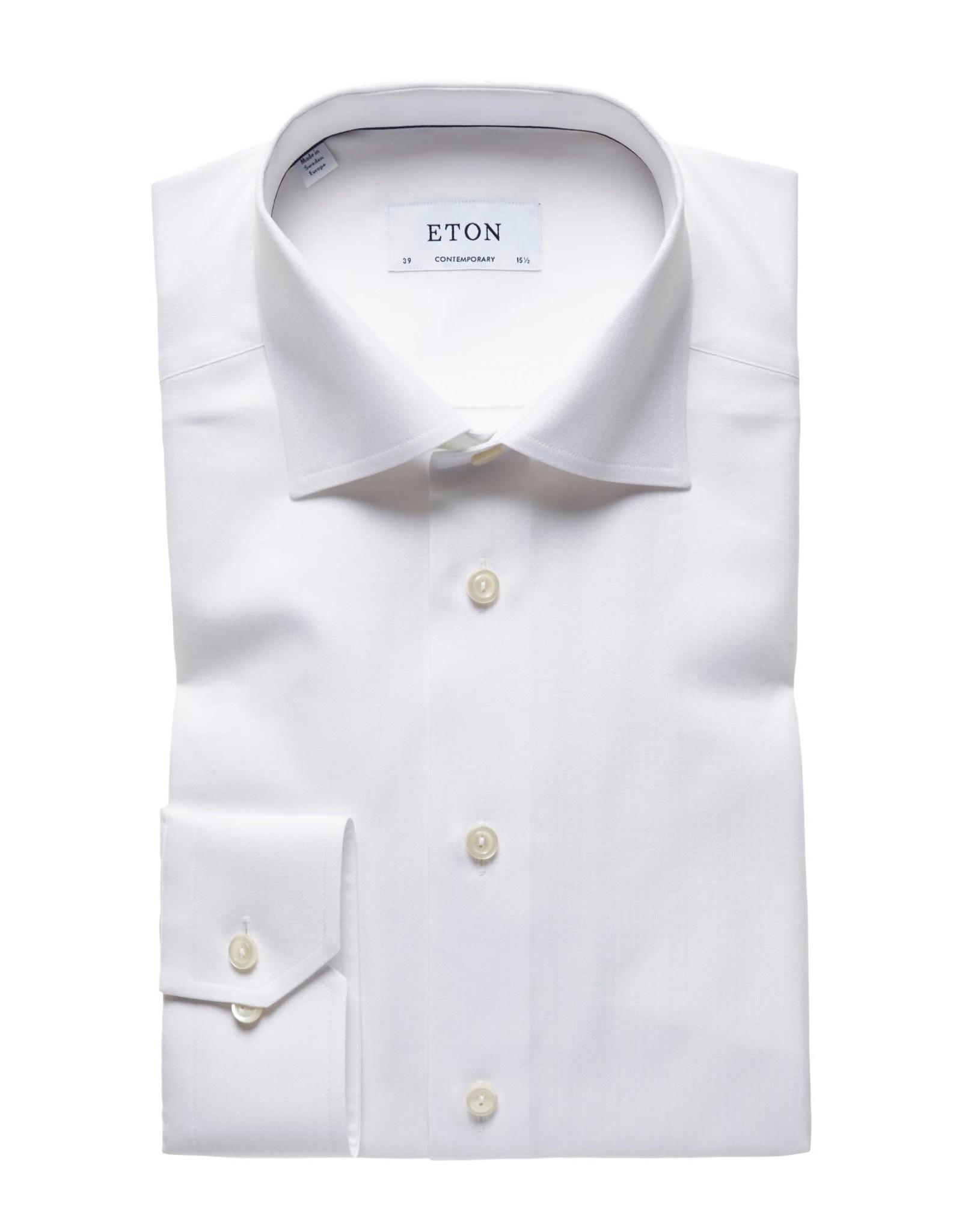Eton Eton hemd wit contemporary 3072-79311/00