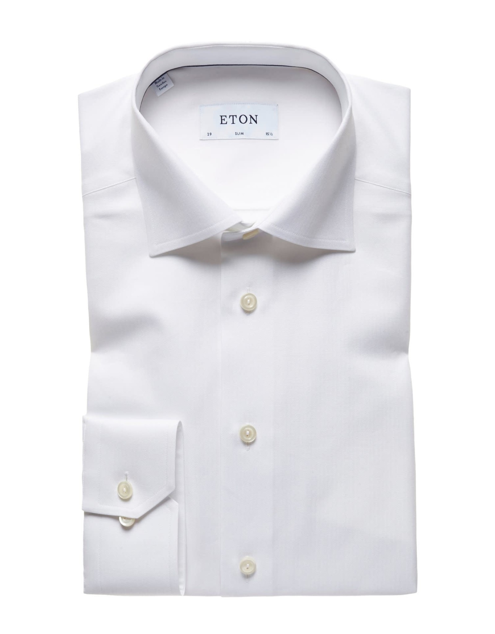 Eton Eton hemd wit slim 3072-79511/00