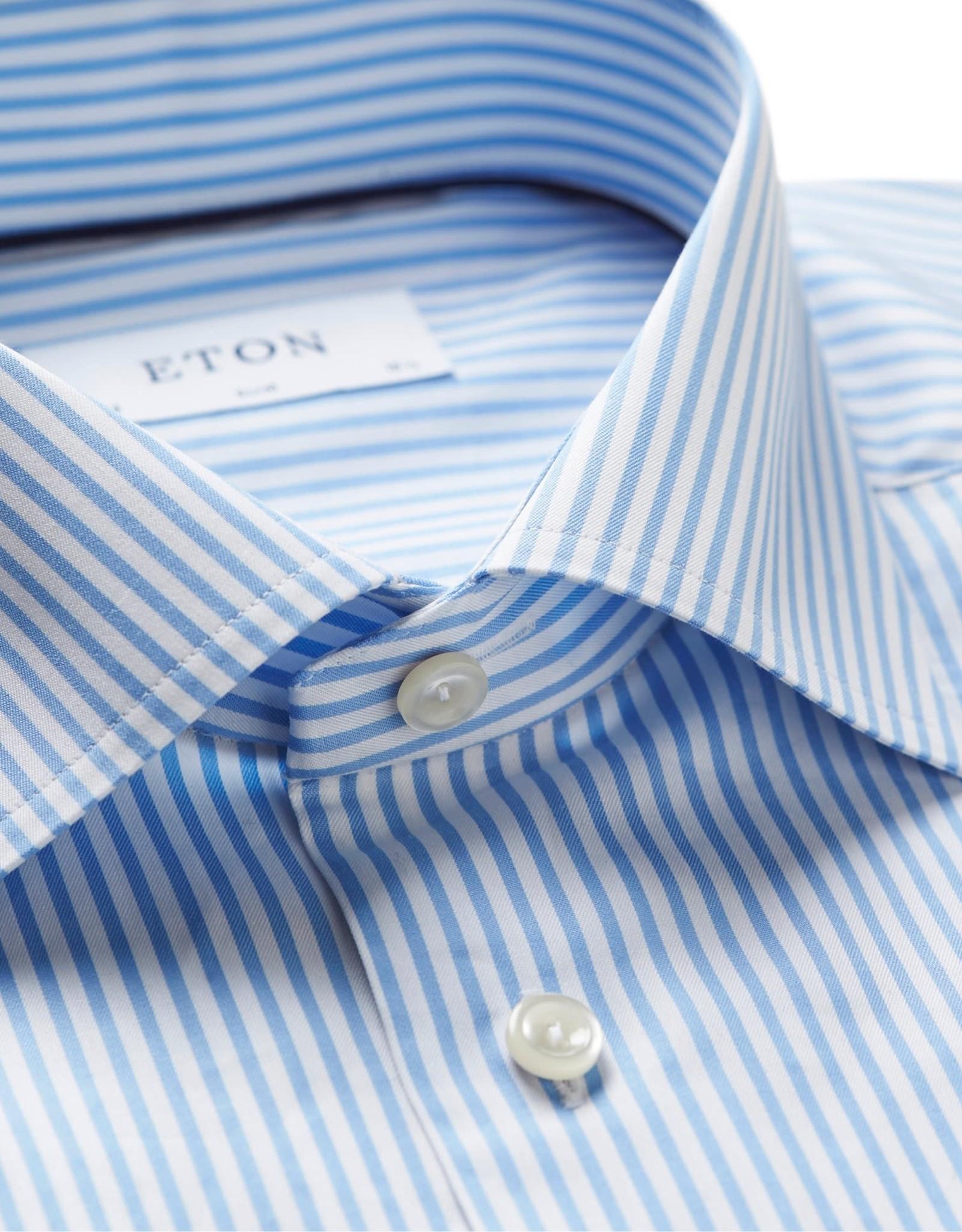 Eton Eton hemd blauw slim 3082-79511/22