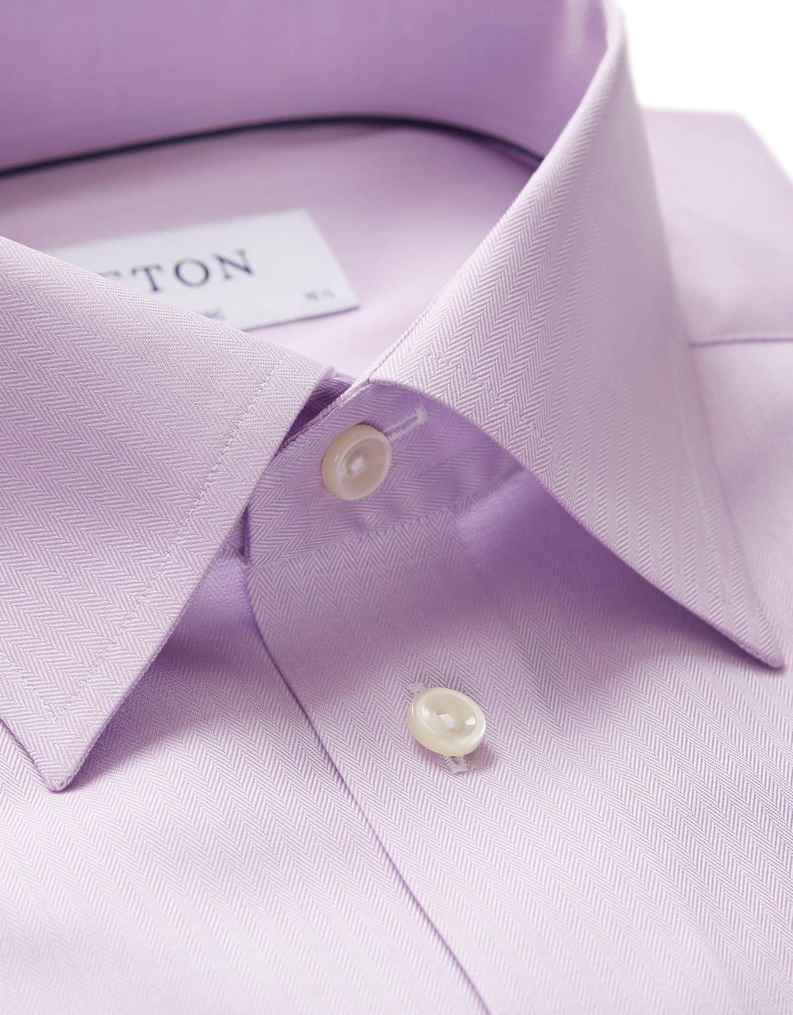 Eton Eton hemd lila classic 3153-78011/72