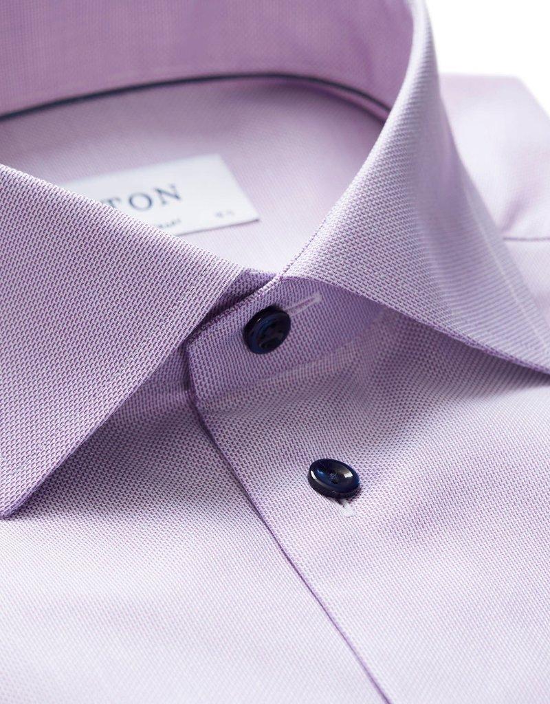 Eton Eton hemd lila contemporary 3252-79344/76
