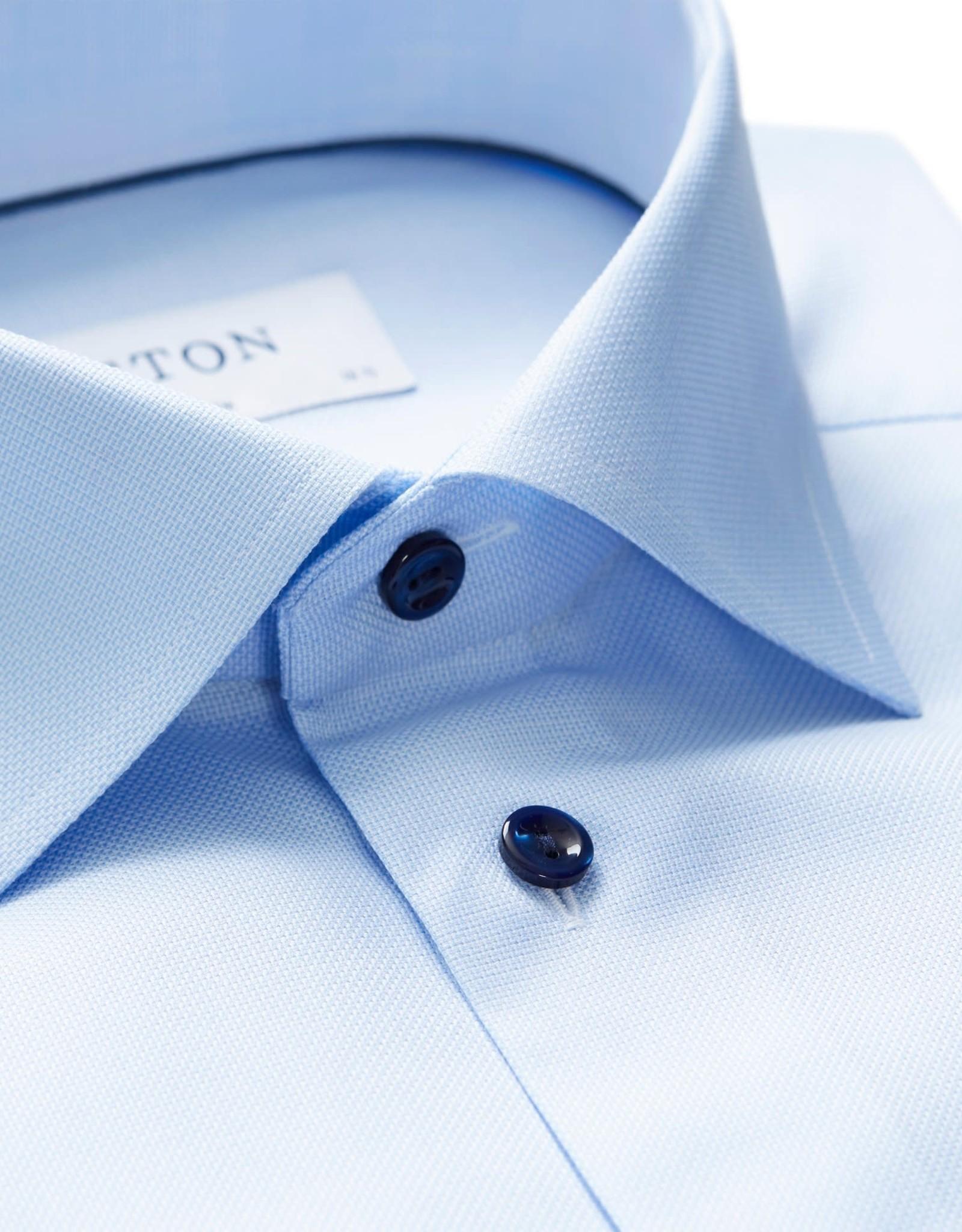 Eton Eton hemd blauw slim 3252-79544/22