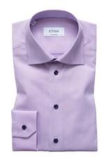 Eton Eton hemd lila slim 3252-79544/76