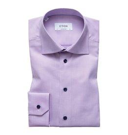 Eton Eton hemd lila slim