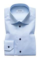 Eton Eton hemd blauw slim 3295-79539/21