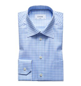 Eton Eton hemd blauw classic