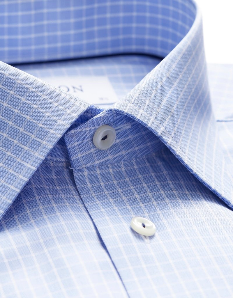 Eton Eton hemd blauw classic 3398-78107/21