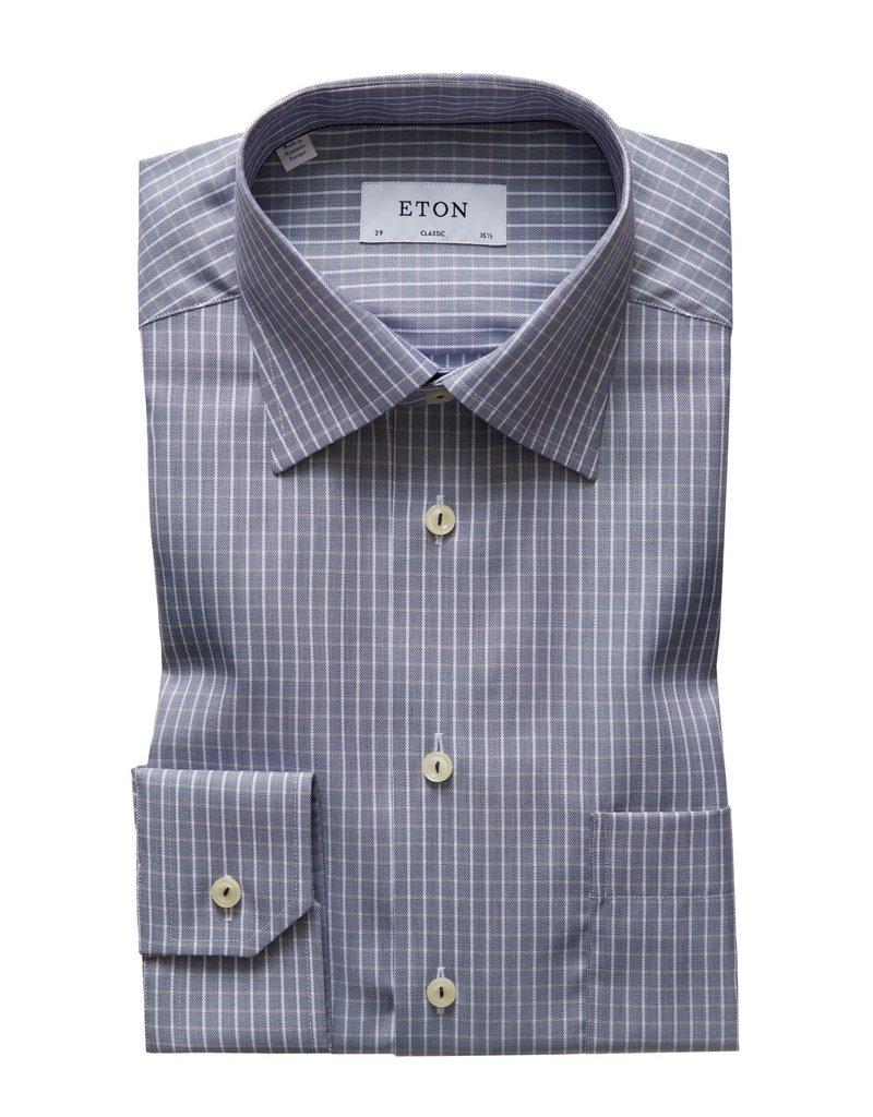 Eton Eton hemd blauw classic 3398-78107/29