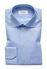 Eton Eton hemd blauw contemporary 3398-79407/21