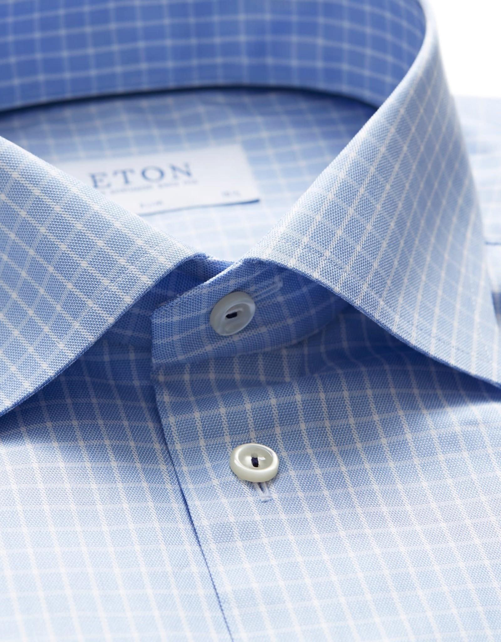Eton Eton hemd blauw slim 3398-79607/21