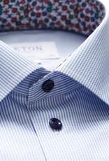 Eton Eton hemd lichtblauw gestreept Slim 3399-79667/21