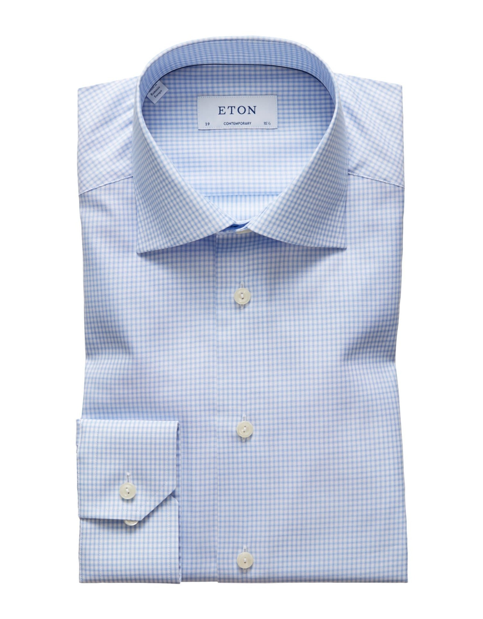 Eton Eton hemd blauw contemporary 3410-79311/21