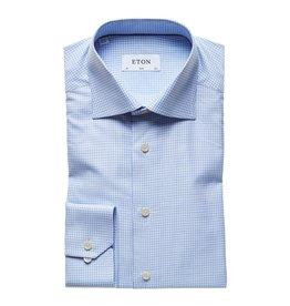 Eton Eton hemd blauw slimfit