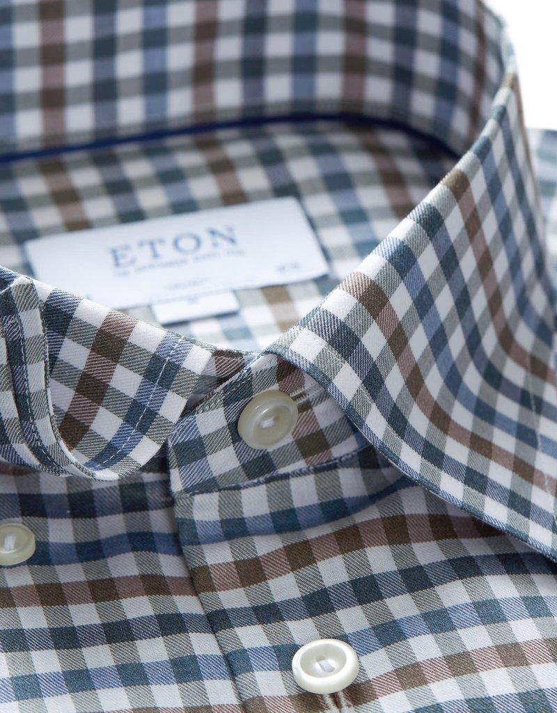 Eton Eton hemd multicolour slimfit 3986