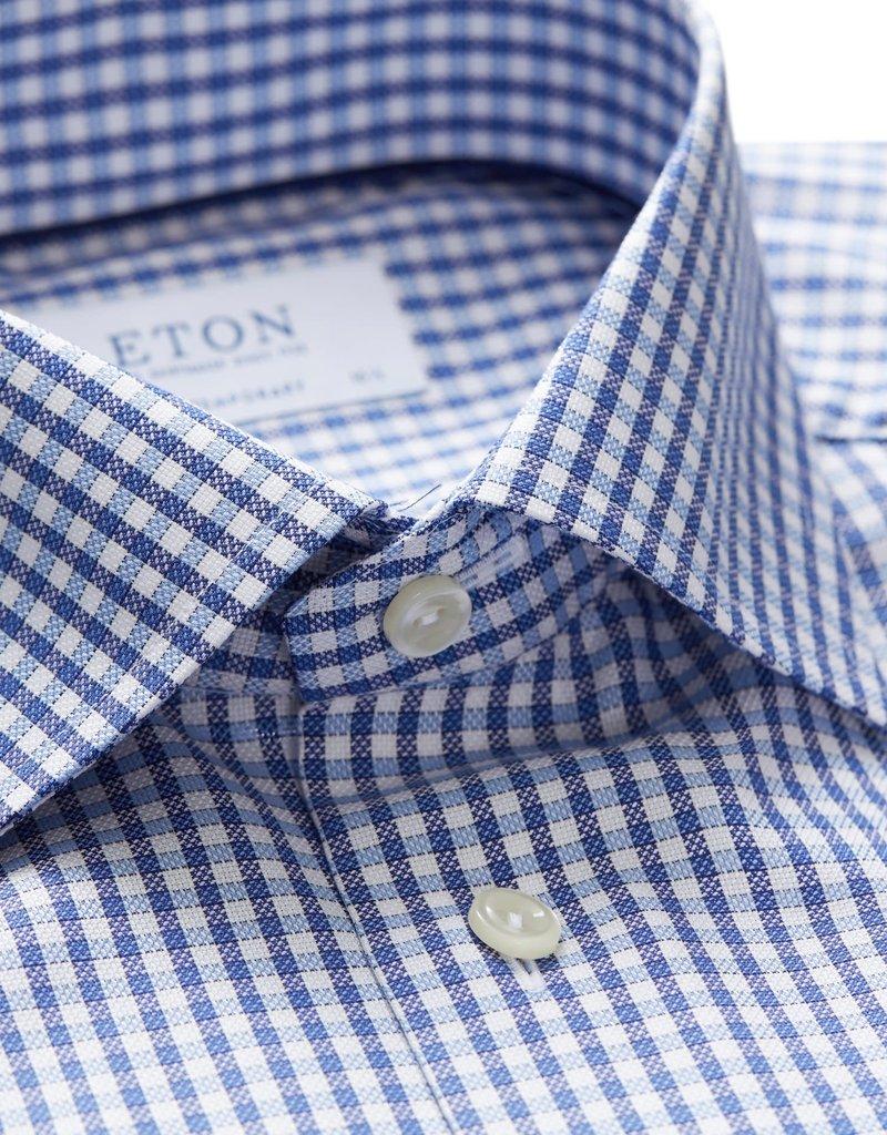 Eton Eton hemd blauw contemporary 4066-00373/25