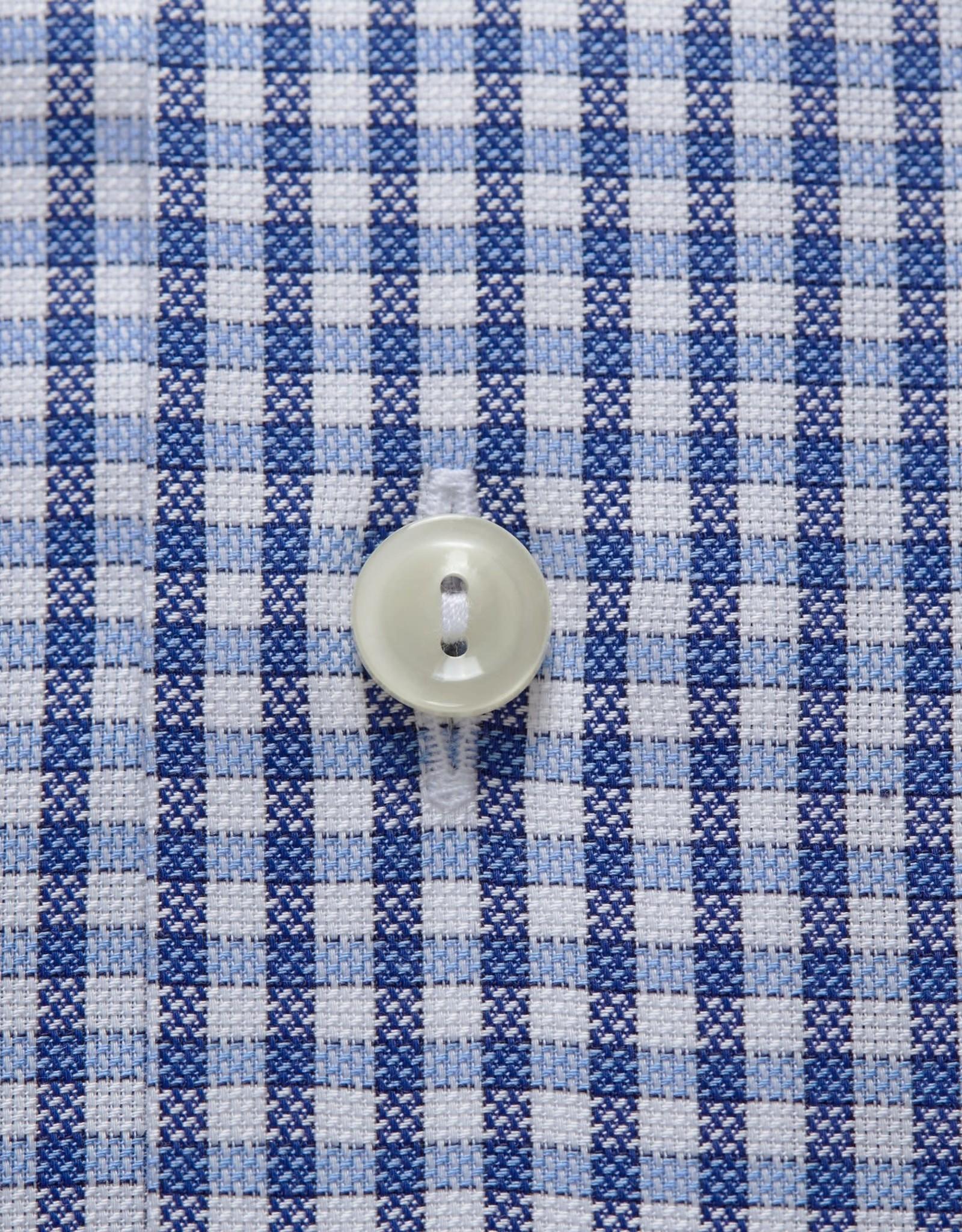 Eton Eton hemd blauw slimfit 4066-00666/25
