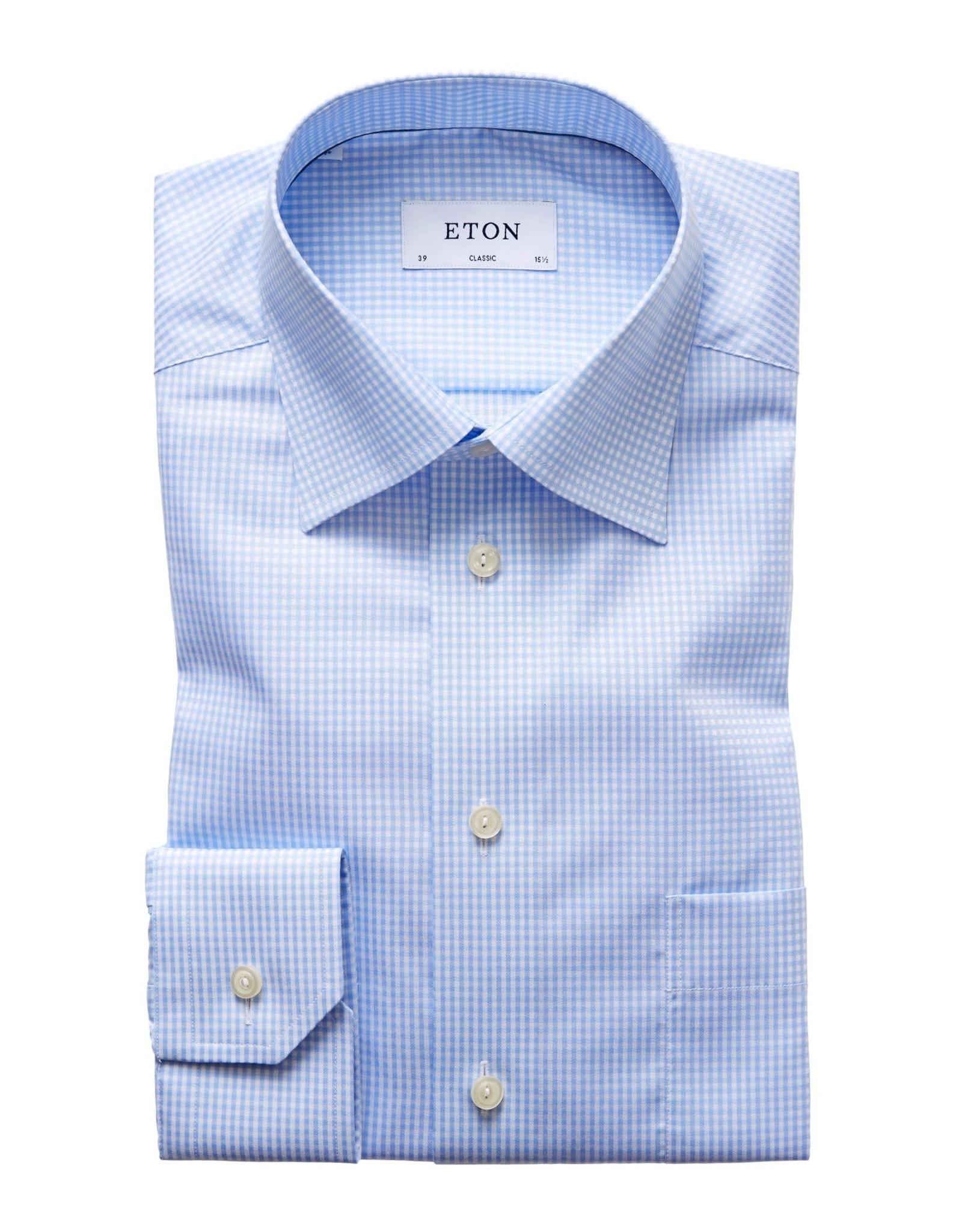 Eton Eton hemd blauw classic 7670-78011/21