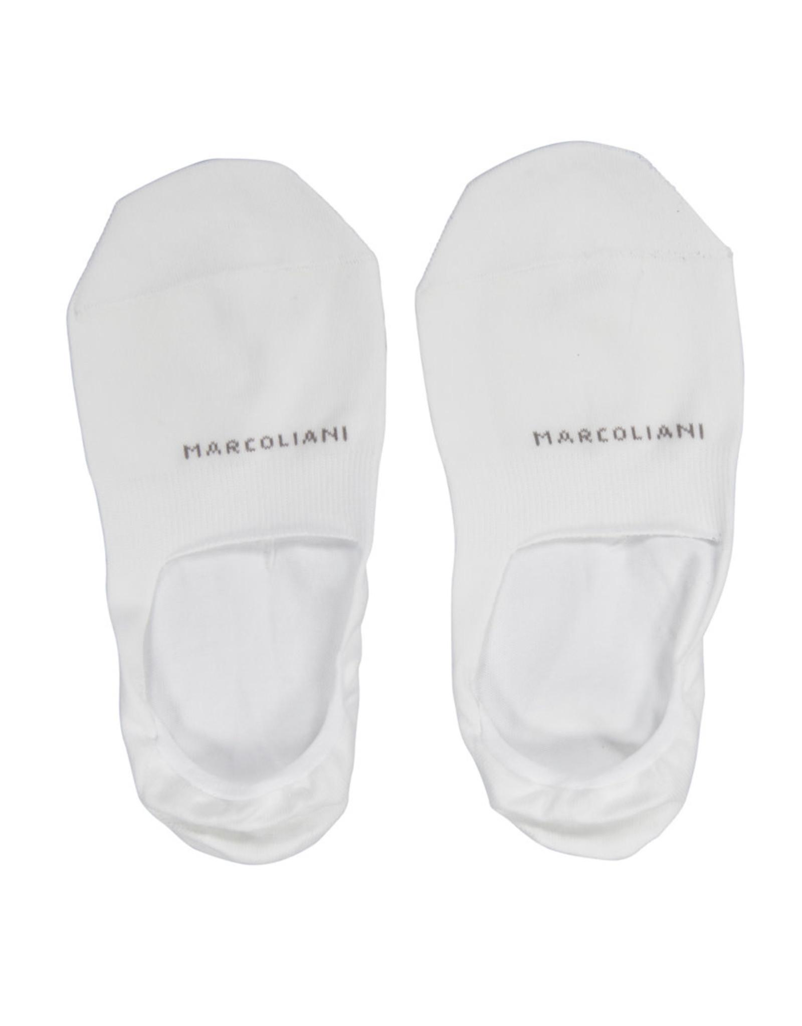 Marcoliani Marcoliani sokken wit Invisible 3310S/008