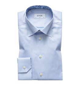 Eton Eton hemd contemporary blauw