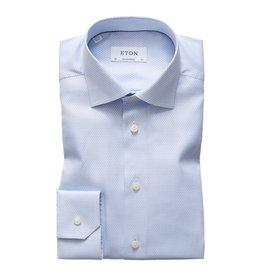 Eton Eton hemd blauw FU slimfit