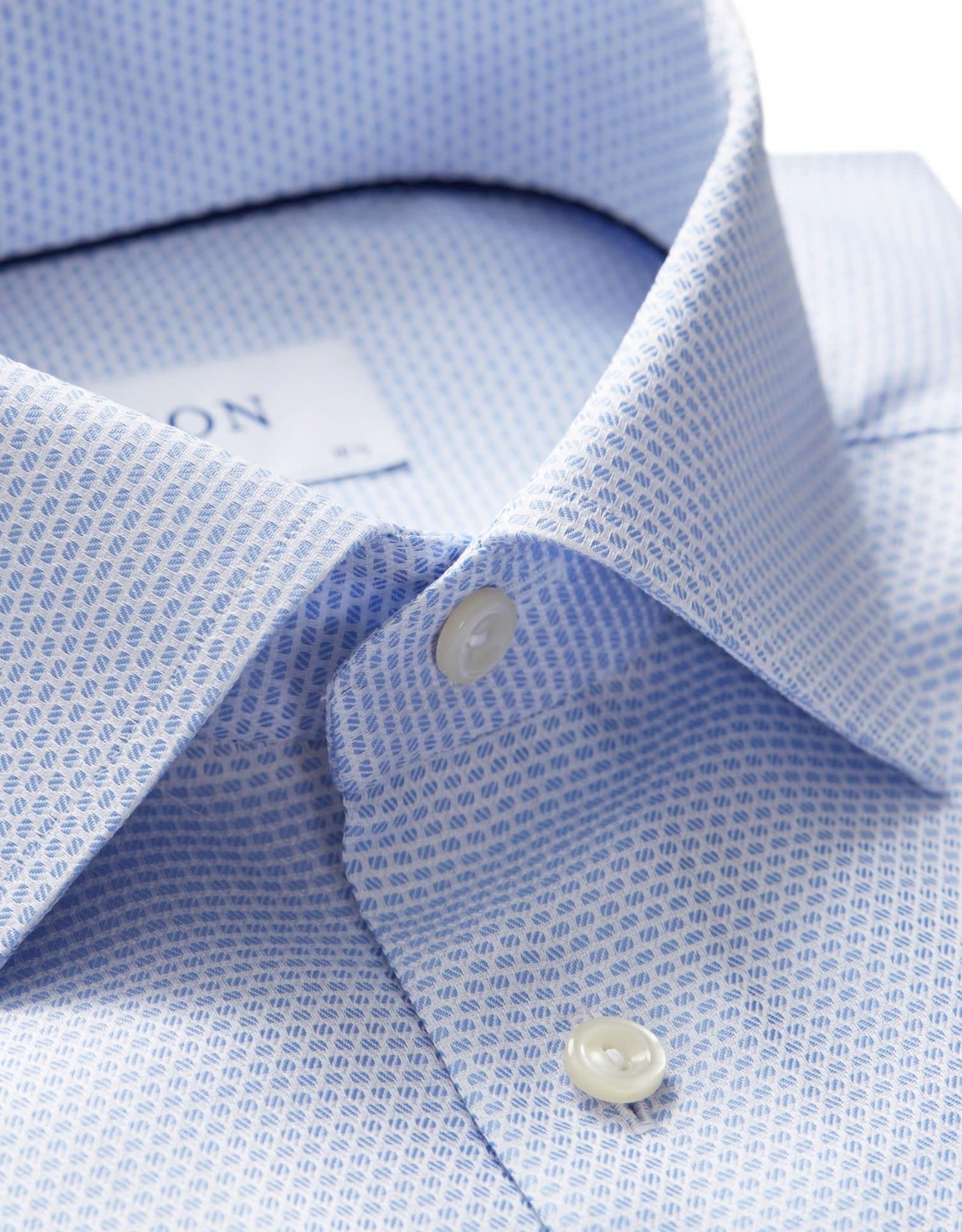 Eton Eton hemd blauw FU classicfit 284