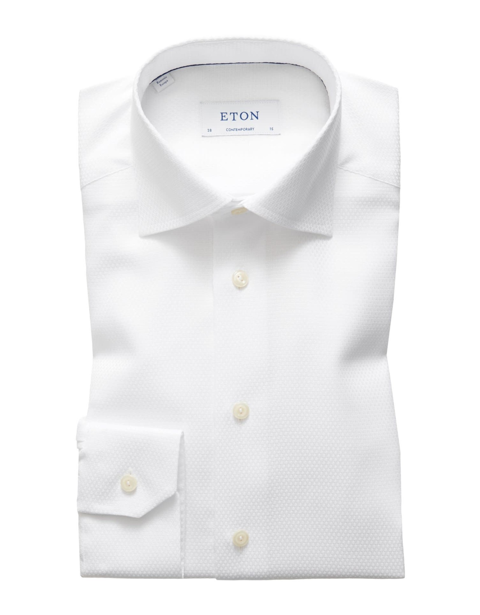 Eton Eton hemd wit contemporary FU 285
