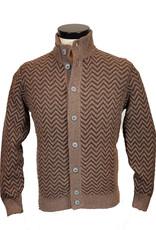 Gran Sasso Sandmore's cardigan beige-bruin 23903