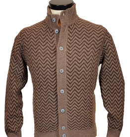 Gran Sasso Sandmore's cardigan beige-bruin